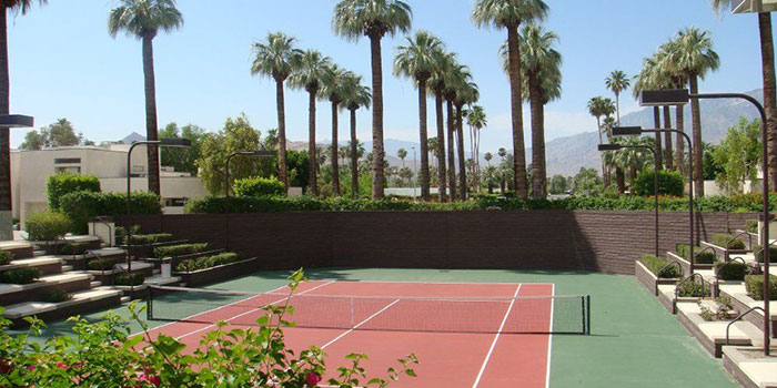 Village Racquet Club Complex Palm Springs Real Estate