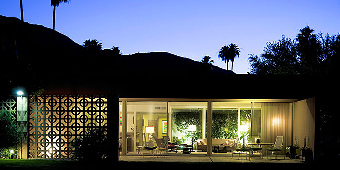 Sandpiper complex palm springs real estate condos and for Palm springs mid century modern homes for sale