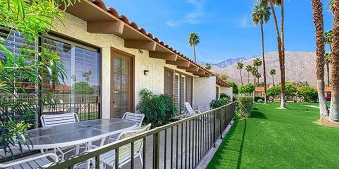 Palm Springs Deepwell Ranch Neighborhood