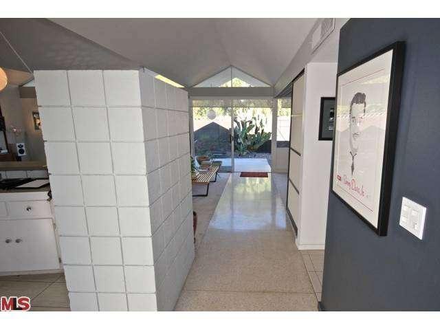 Mid century condo interior in Palm Springs California