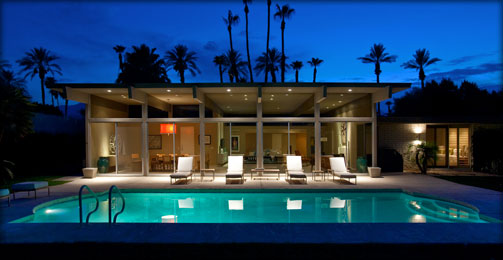 Palm Springs Modern Vacation Properties for sale