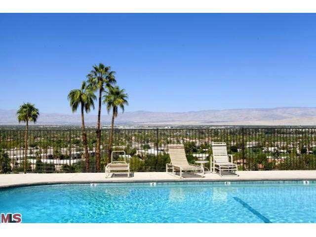 Stunning hillside Palm Springs mid-century modern architecture