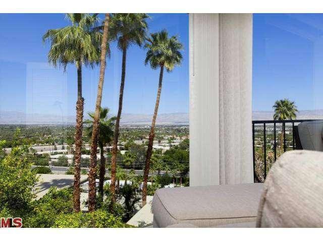 Stunning hillside Palm Springs mid-century modern condos