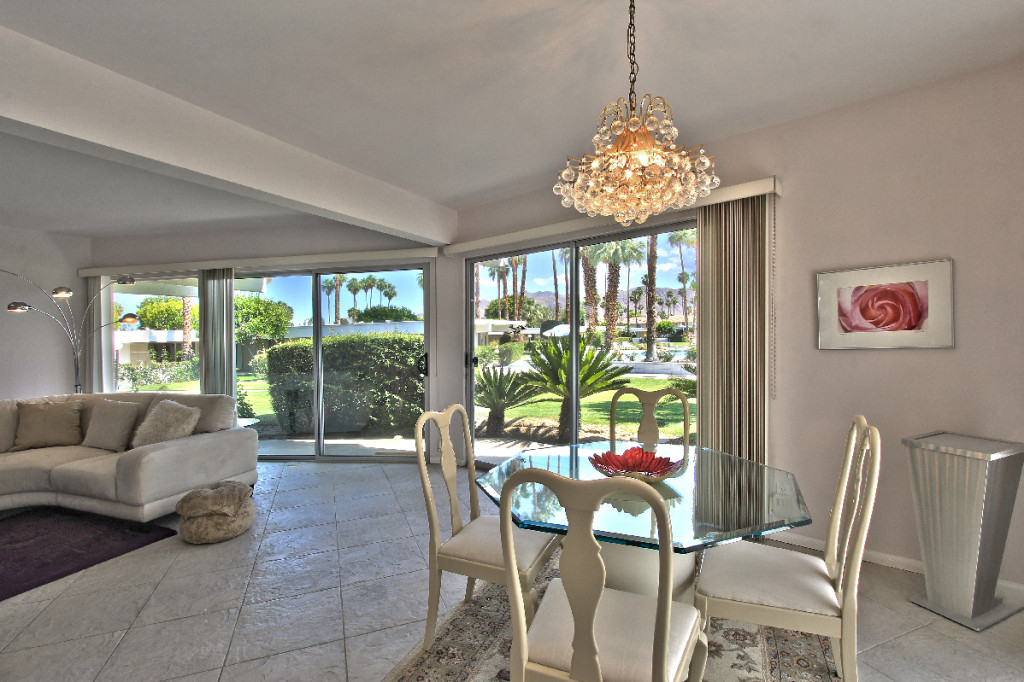 Firebird estates condo with panoramic views from living and fining rooms