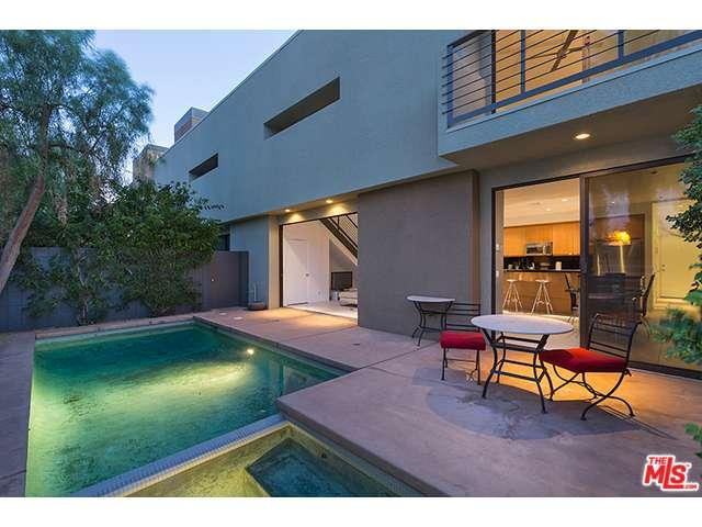 Palm Springs condo with a private pool at the 48@Baristo