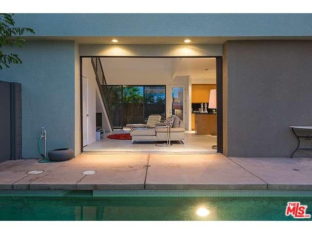 Condo with a private pool at the 48@Baristo in Palm Springs