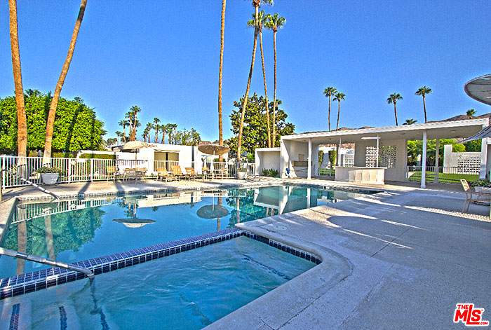 Pool of the Garden Villas East, Palm Springs