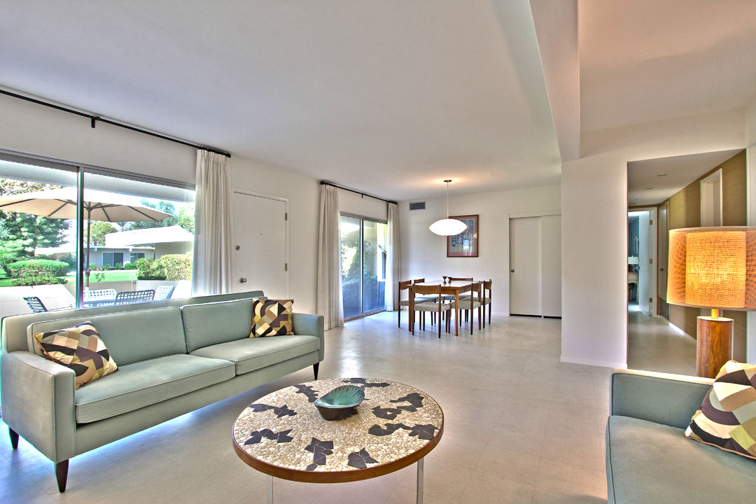 Mid century modern palm springs real estate for sale for Contemporary condos for sale