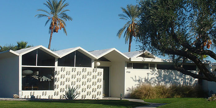 Park Imperial South, midcentury modern condos, Palm Springs