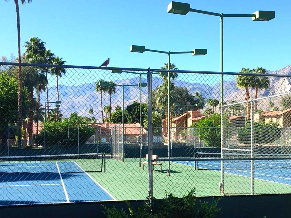 Ramon Estates tennis courts