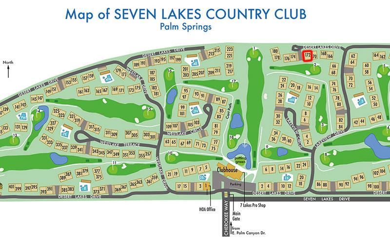 Location of 172 Desert Lakes