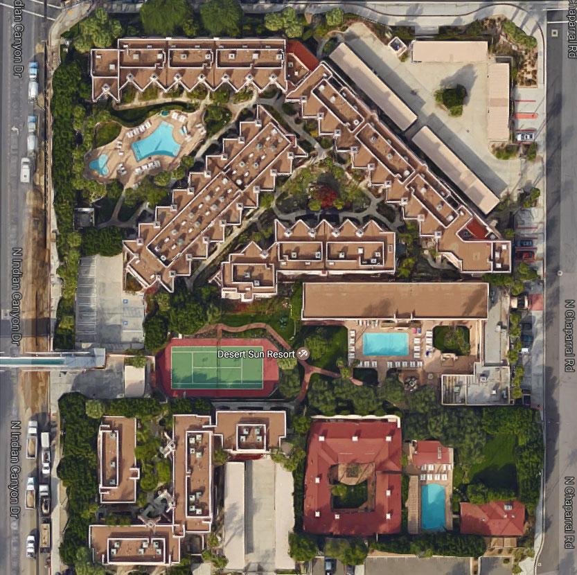 Desert Sun Resort, Palm Springs
